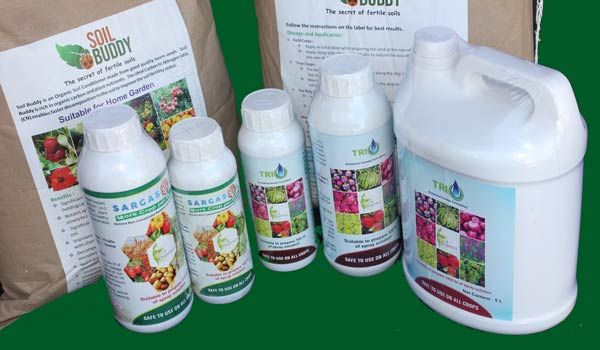 Go 4 Organics range of certified organic products for the home garden